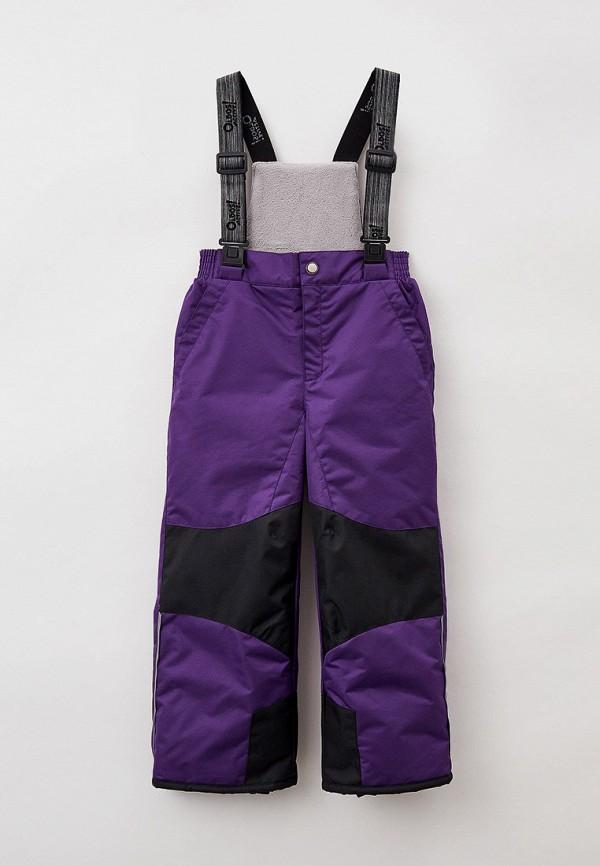 утепленные брюки oldos малыши, фиолетовые