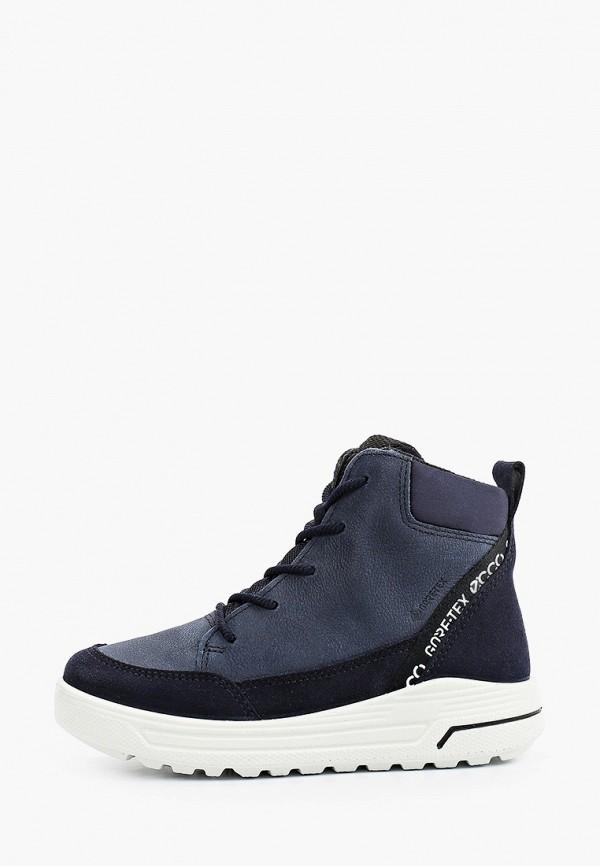 ботинки ecco малыши, синие