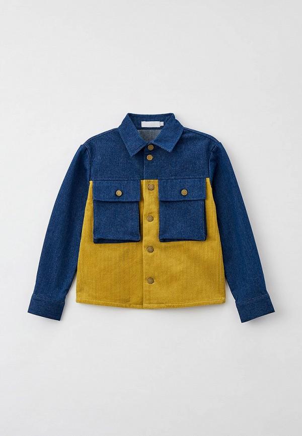 рубашка smena малыши, разноцветная