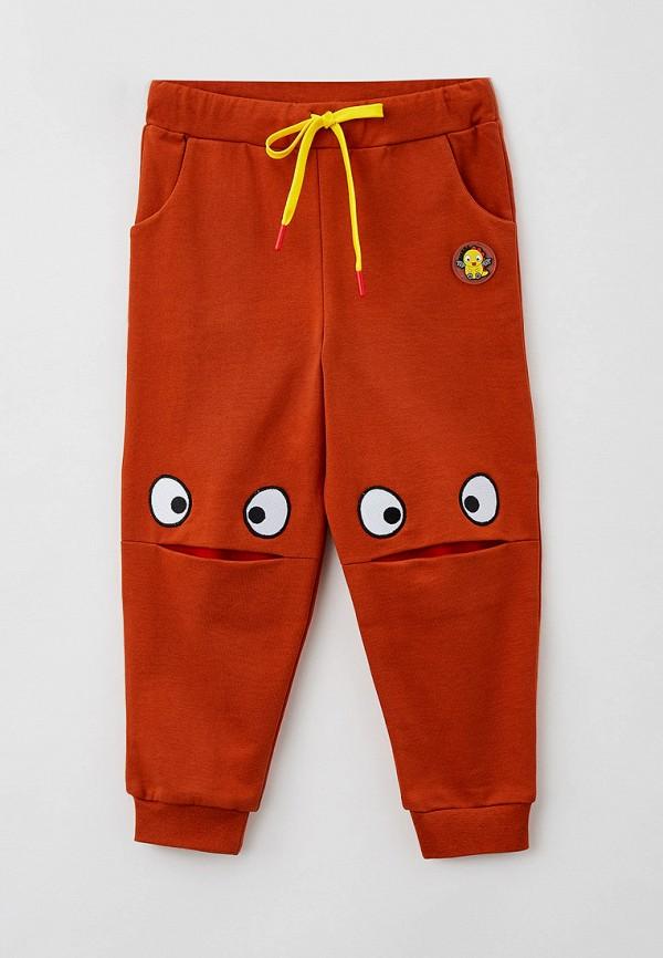 спортивные брюки smena малыши, коричневые