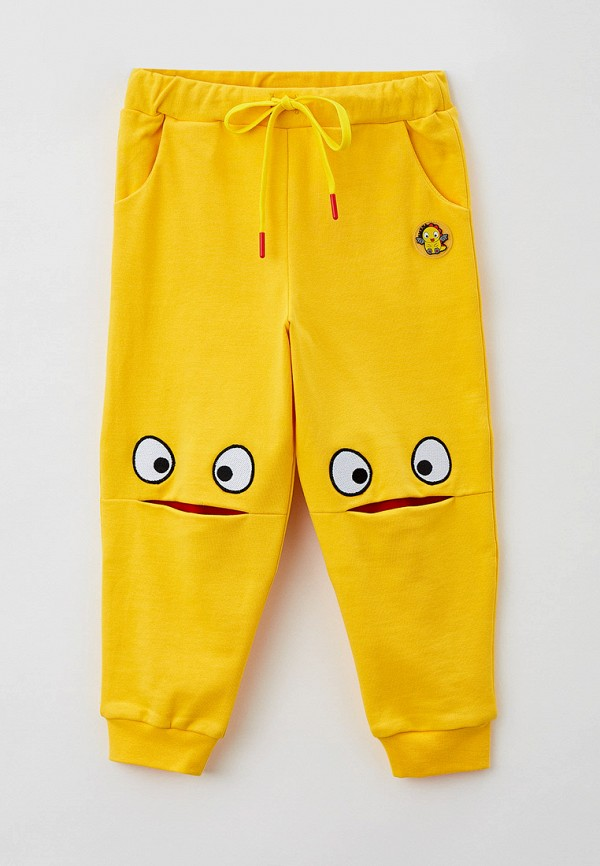 спортивные брюки smena малыши, желтые