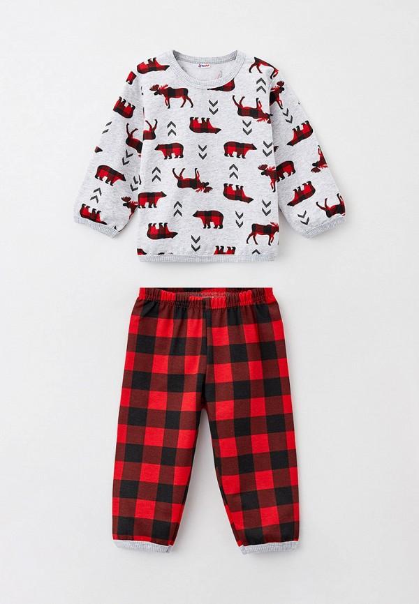 пижама youlala малыши, разноцветная