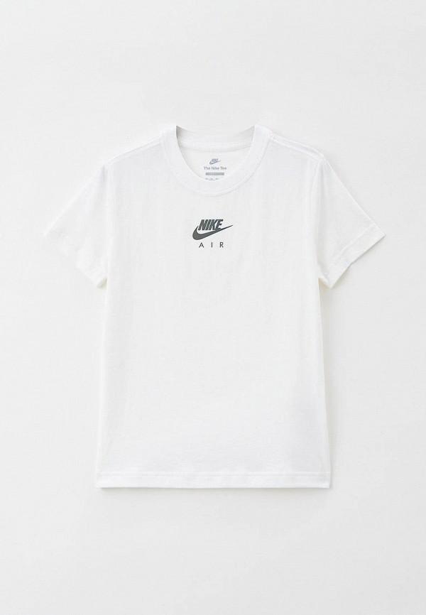 футболка nike малыши, белая