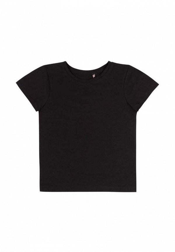 футболка с коротким рукавом бемби малыши, черная