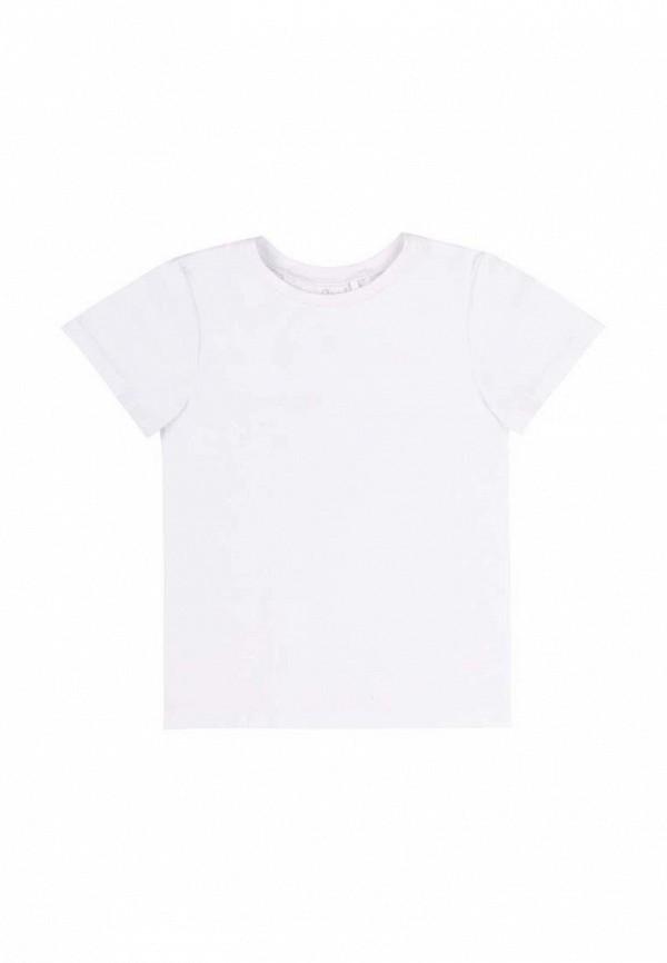 футболка с коротким рукавом бемби малыши, белая