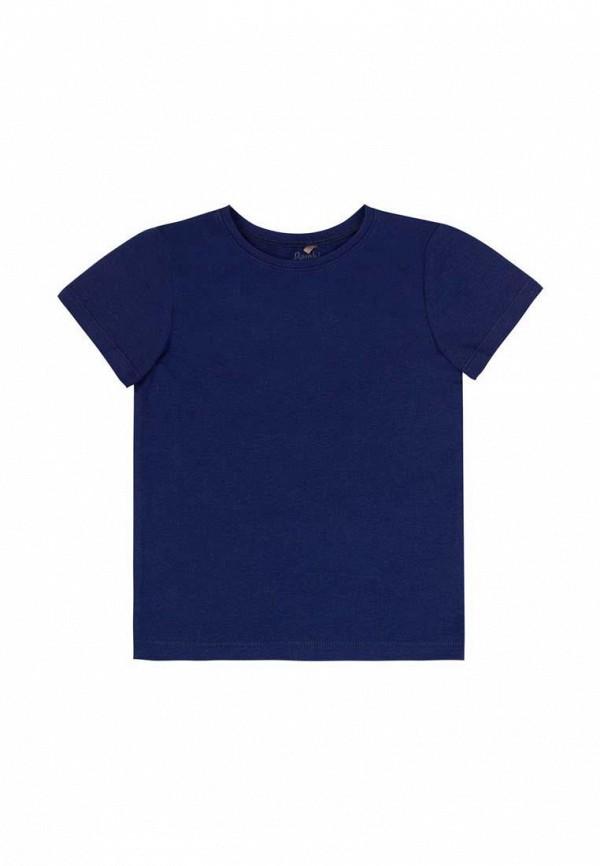 футболка с коротким рукавом бемби малыши, синяя
