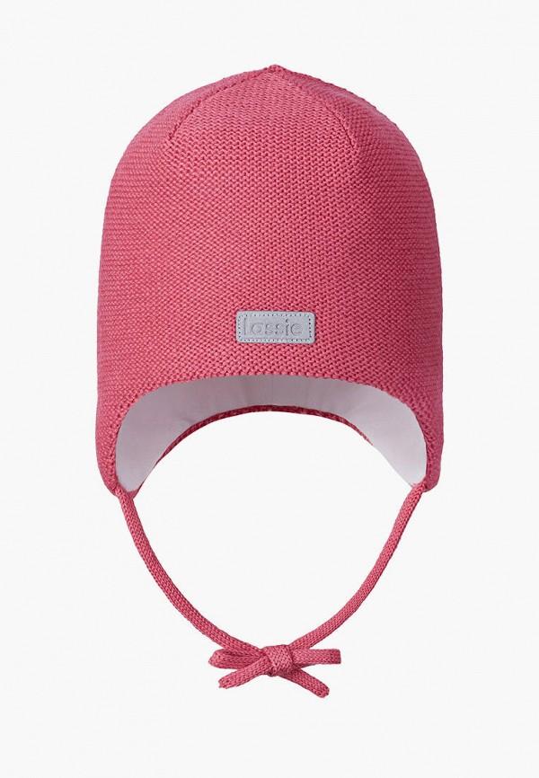 шапка lassie by reima малыши, розовая