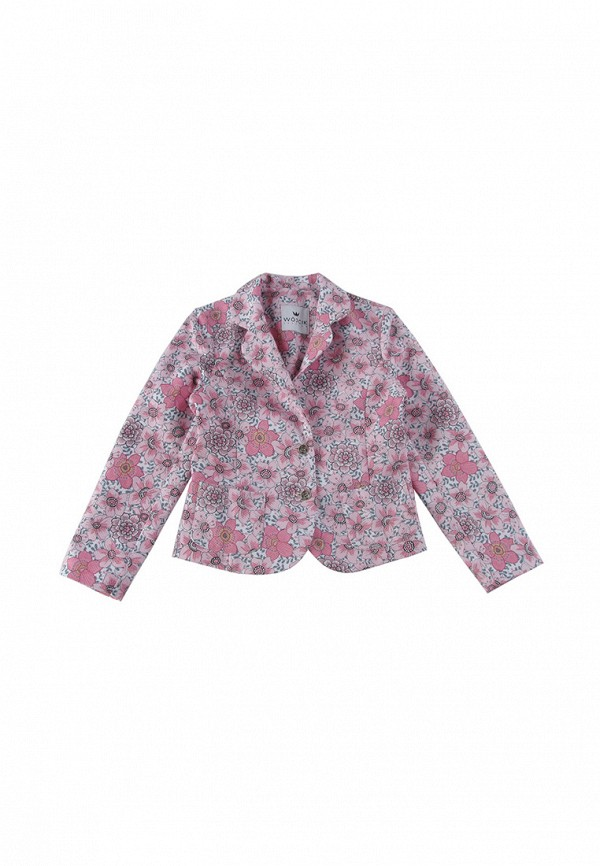 пиджак wojcik для девочки, розовый