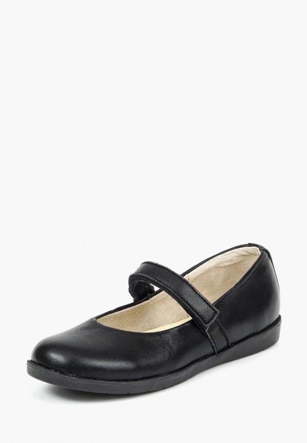 туфли tops для девочки, черные