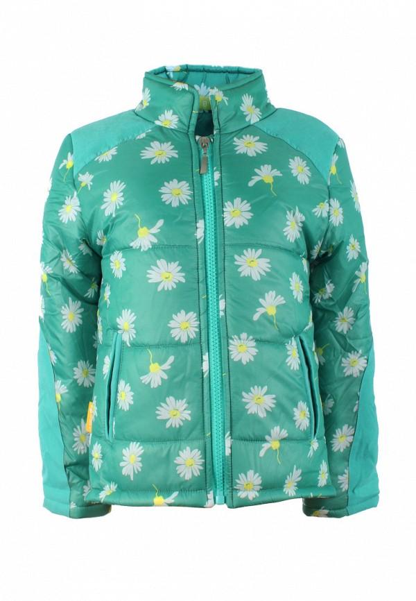 куртка irby style для девочки, бирюзовая