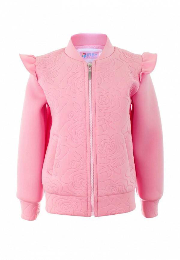 олимпийка irby style для девочки, розовая