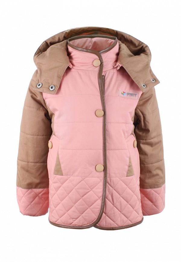 куртка irby style для девочки, разноцветная