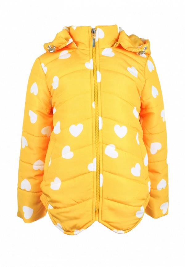 куртка irby style для девочки, желтая