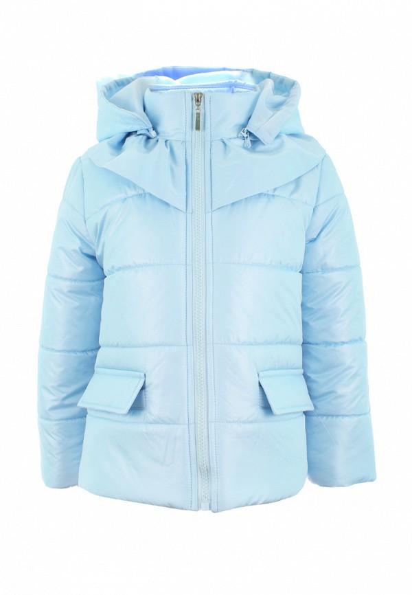 куртка irby style для девочки, голубая