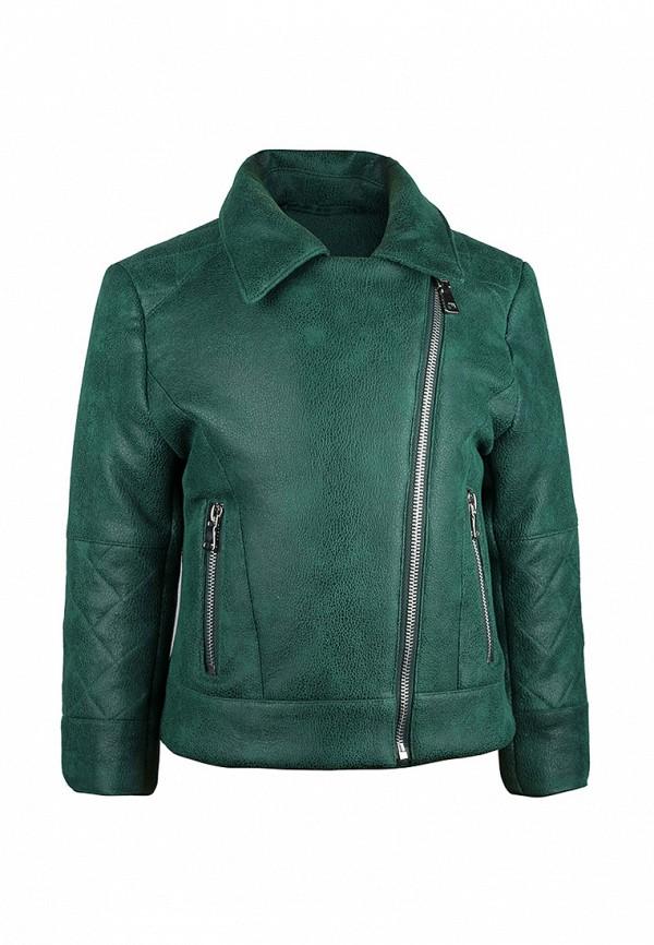 куртка irby style для девочки, зеленая