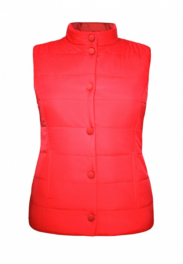 жилет irby style для девочки, красный