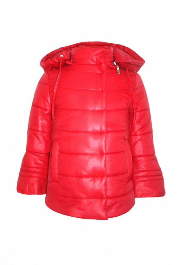 куртка irby style для девочки, красная