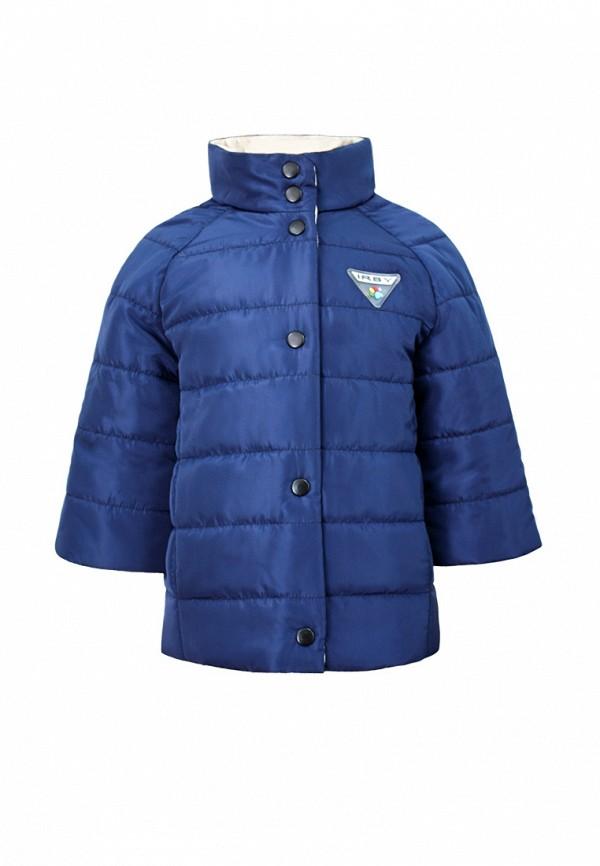 куртка irby style для девочки, синяя
