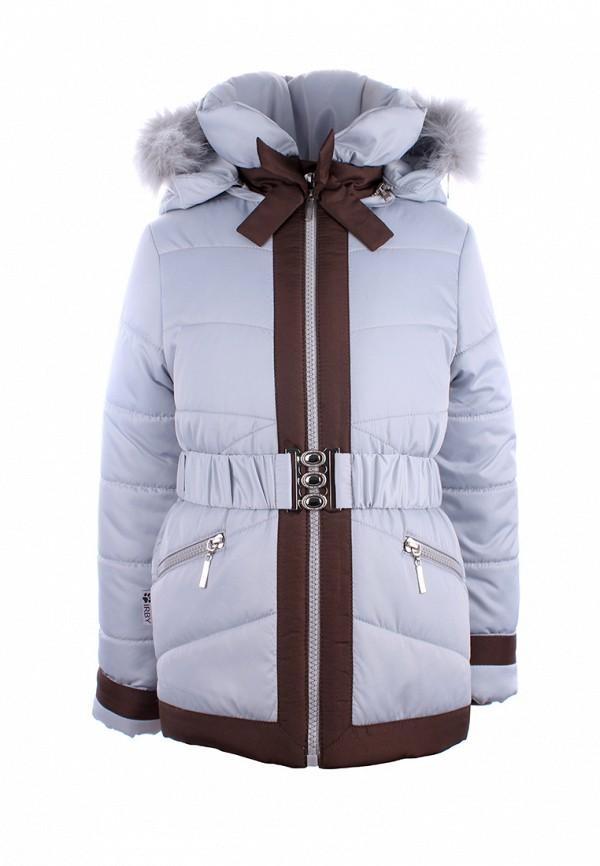 куртка irby style для девочки, серая