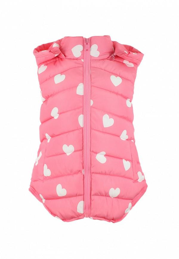 жилет irby style для девочки, розовый