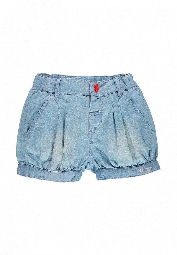шорты brums для девочки, голубые
