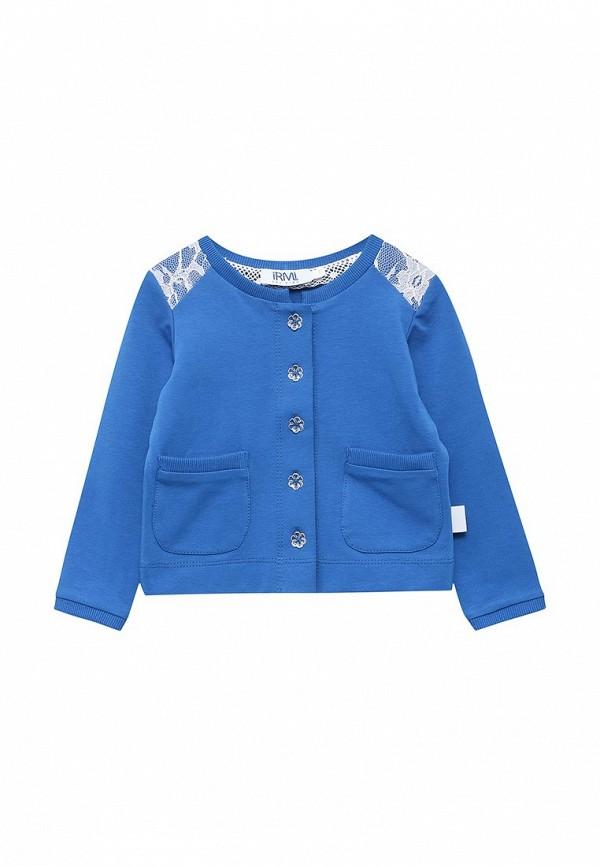 кардиган irmi для девочки, синий