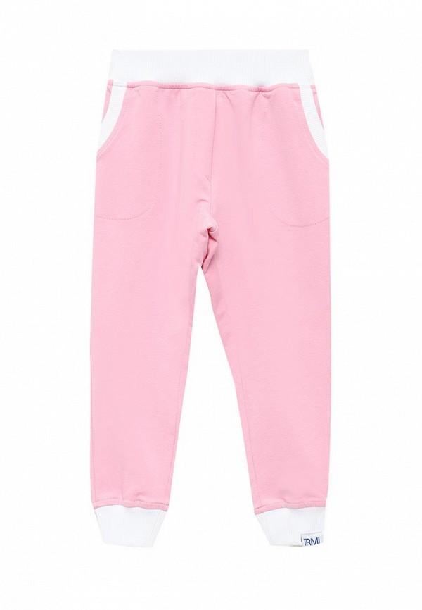 спортивные спортивные брюки irmi для девочки, розовые