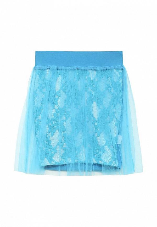 юбка irmi для девочки, голубая