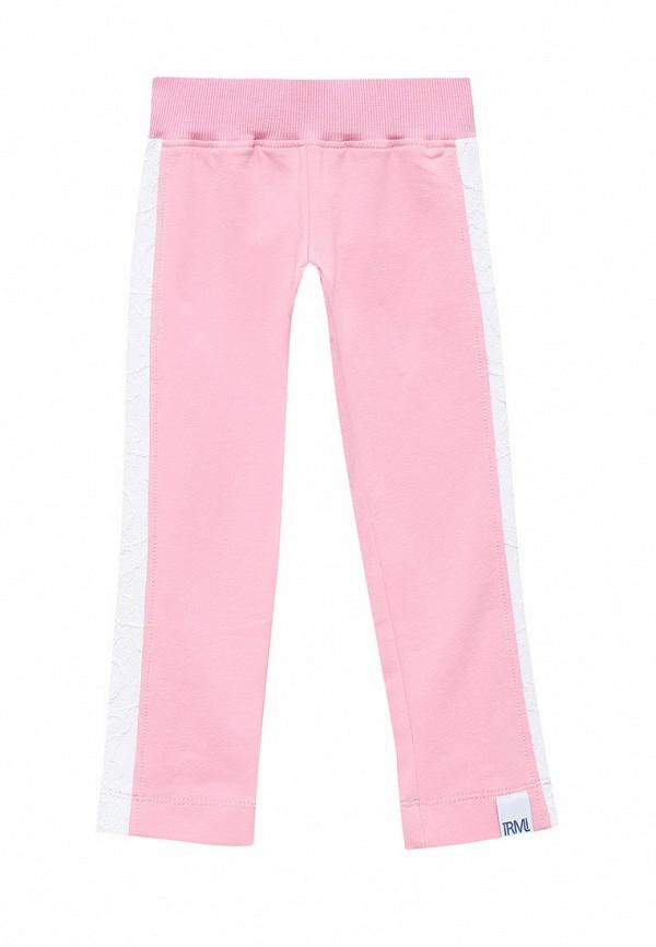 брюки irmi для девочки, розовые