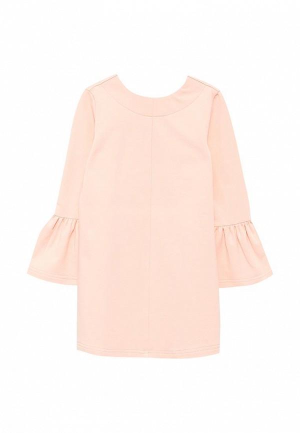 повседневные платье irmi для девочки, розовое