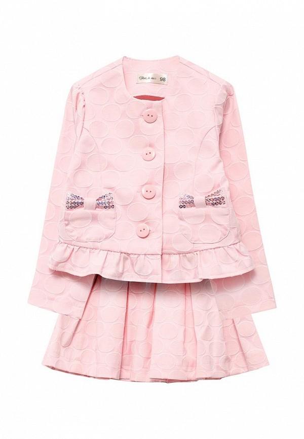 костюм fleur de vie для девочки, розовый