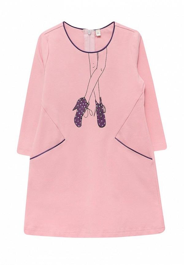 повседневные платье fleur de vie для девочки, розовое