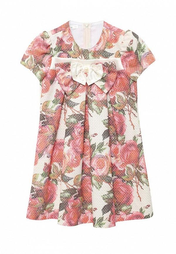 платье fleur de vie для девочки, разноцветное