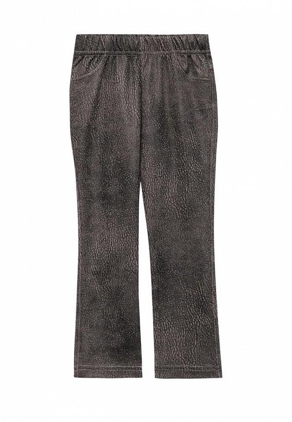брюки fleur de vie для девочки, коричневые