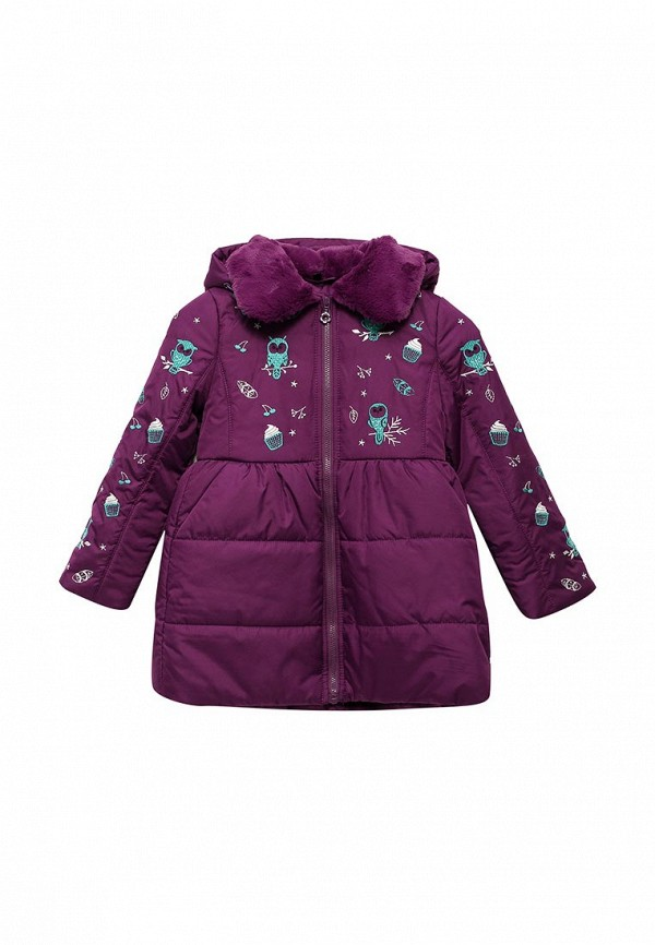 Купить Куртка утепленная Fleur de Vie, MP002XG002I3, фиолетовый, Осень-зима 2017/2018