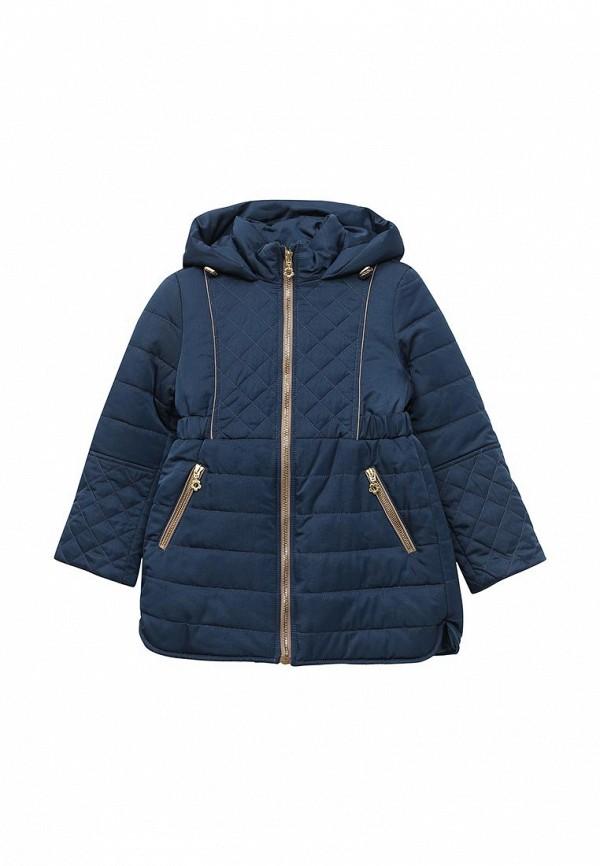 куртка fleur de vie для девочки, синяя