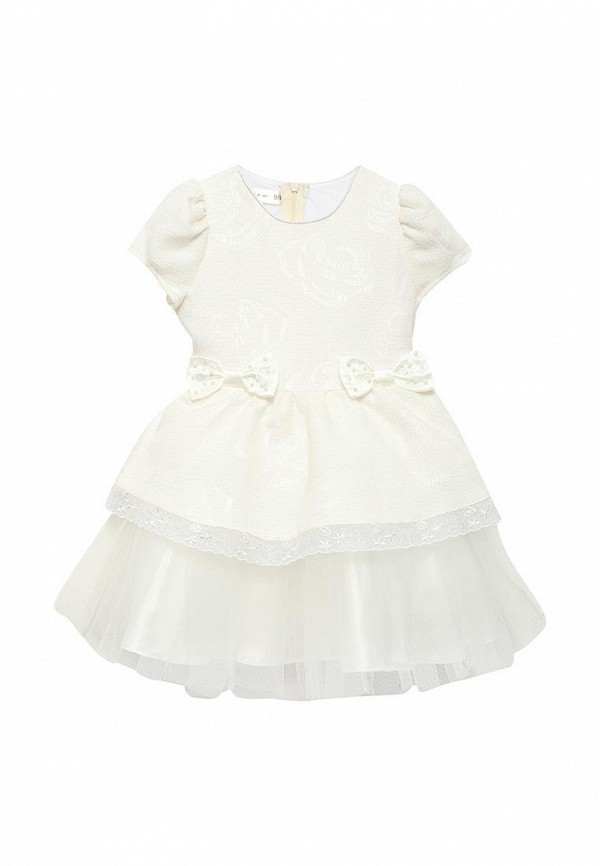 платье fleur de vie для девочки, белое