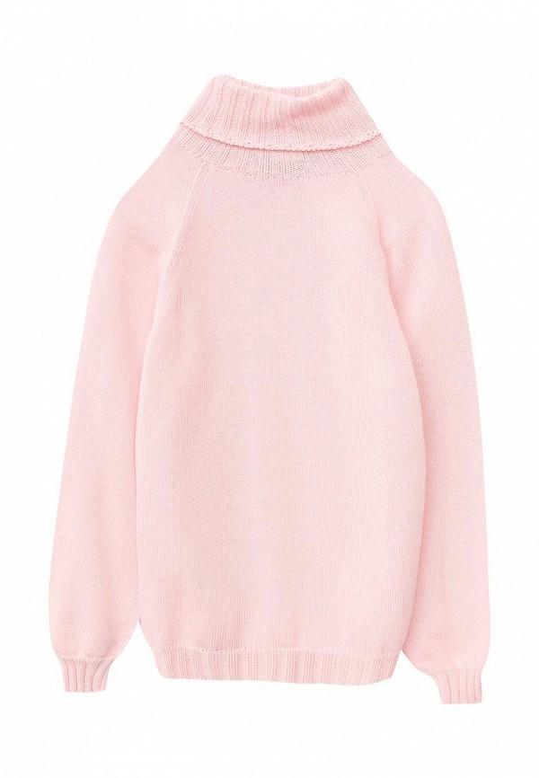 свитер r&i для девочки, розовый