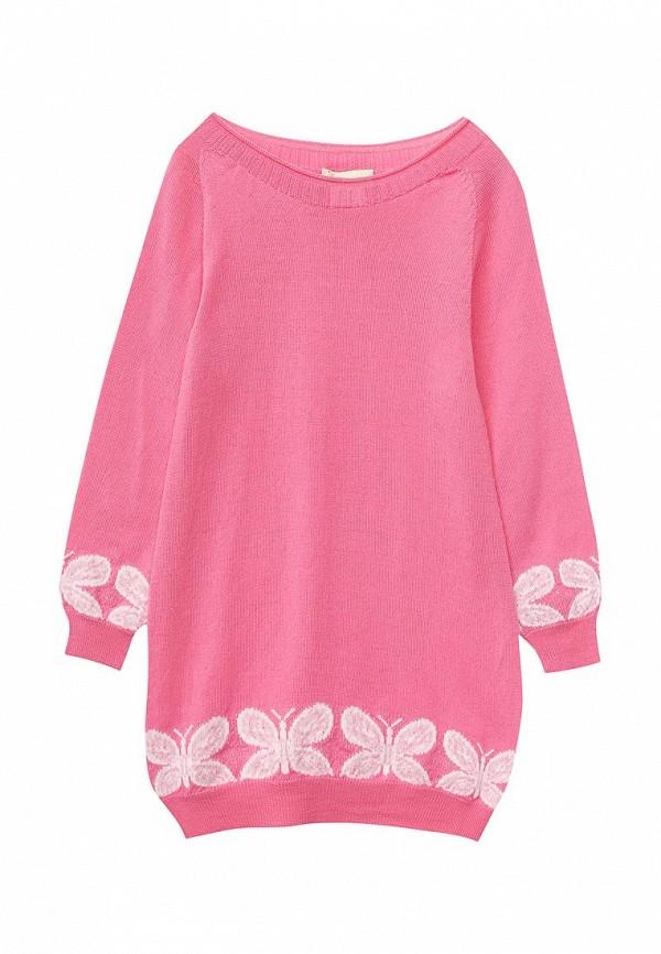 туника r&i для девочки, розовая