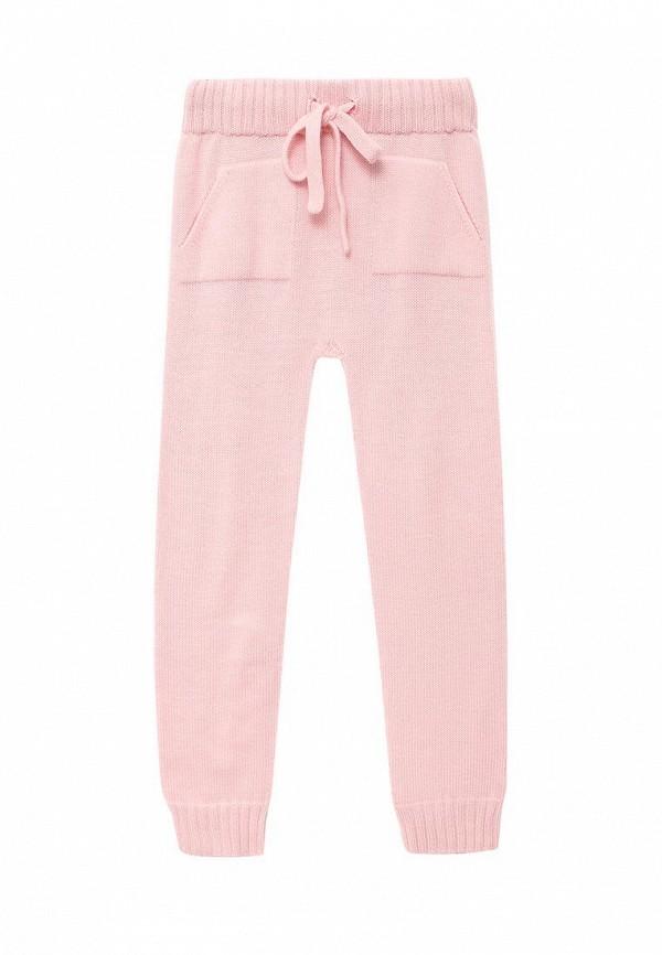 брюки r&i для девочки, розовые