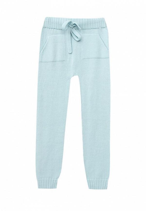 брюки r&i для девочки, голубые