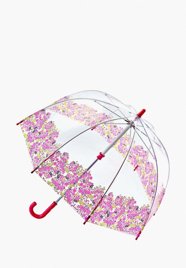 зонт fulton для девочки, розовый