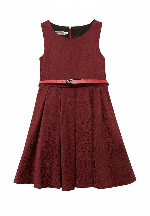Платье Shened Полина  (SH17100бордовый-116-122)
