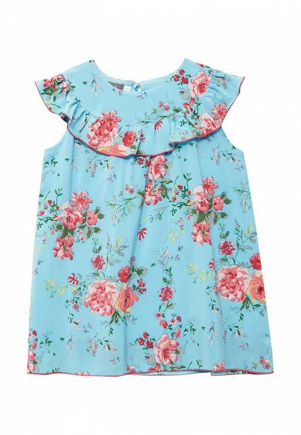 повседневные платье shened для девочки, голубое