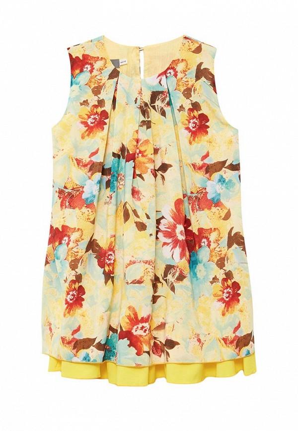 повседневные платье shened для девочки, желтое