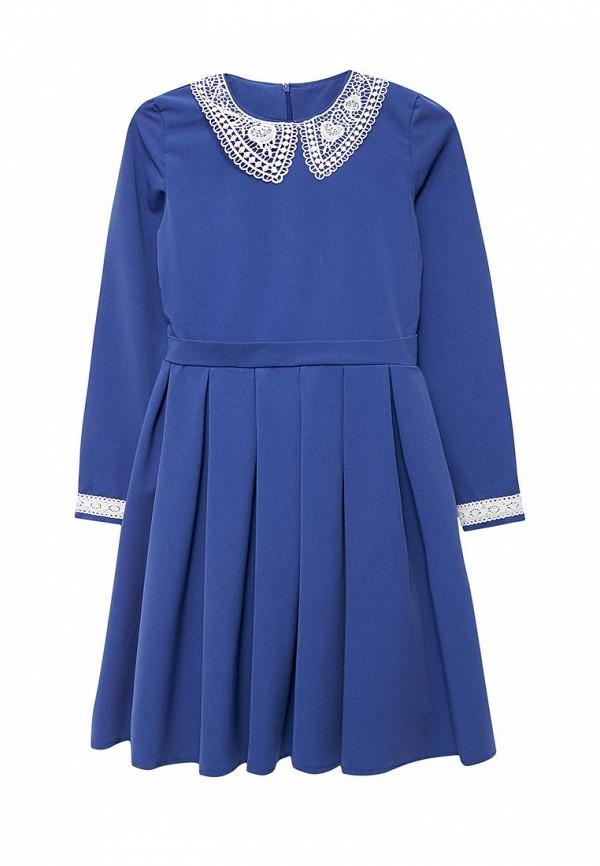 повседневные платье shened для девочки, синее