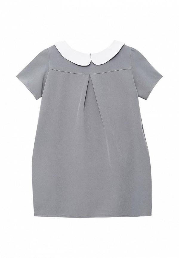 повседневные платье shened для девочки, серое