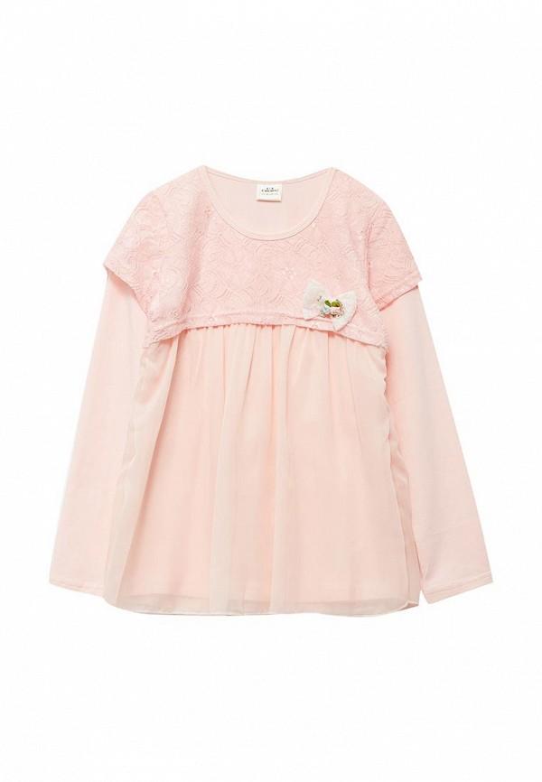 платье cascatto для девочки, розовое