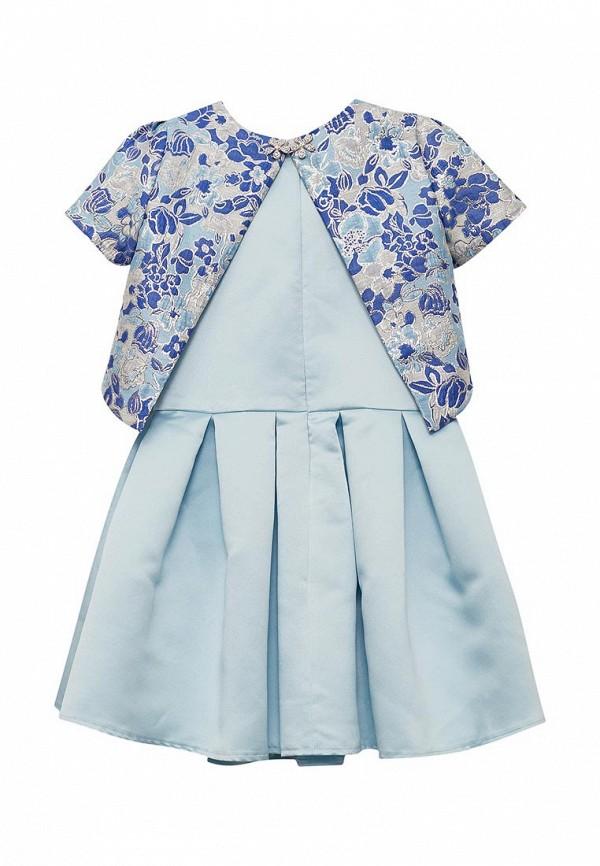 Платья для девочки Letty цвет голубой  Фото 2