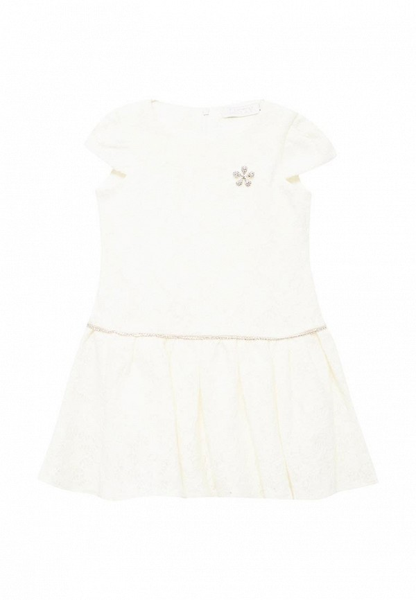 платье letty для девочки, белое